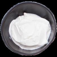 contenant(s) de crème sure
