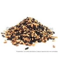 graines de sésame mixtes grillées