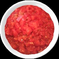 tomates en dés