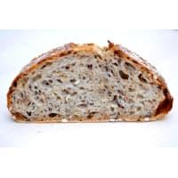 tranches de pain au levain
