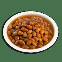 Fèves à la sauce tomate